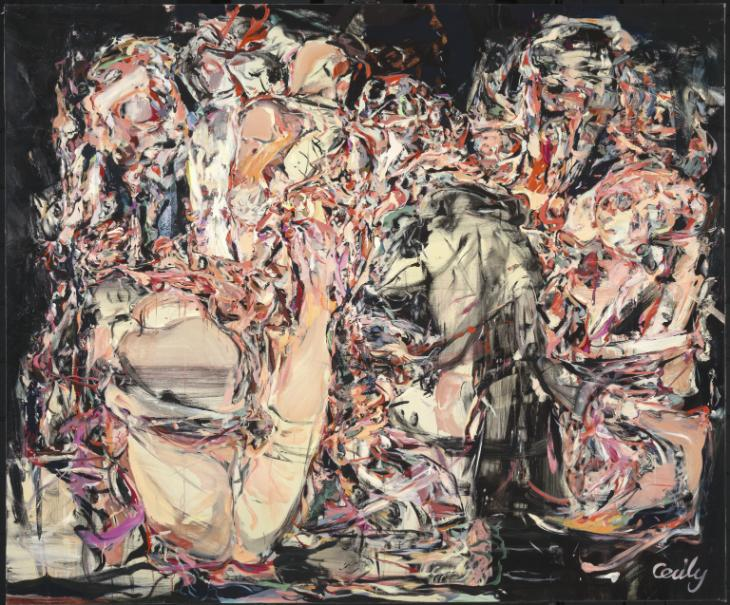 Trouble in Paradise 1999 by Cecily Brown born 1969