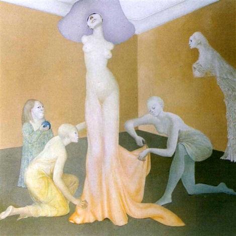 Leonor Fini, L'essayage II, 1972