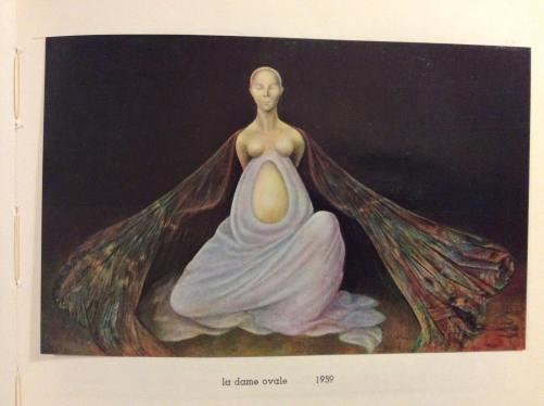Leonor Fini, La Dama Oval, 1959.