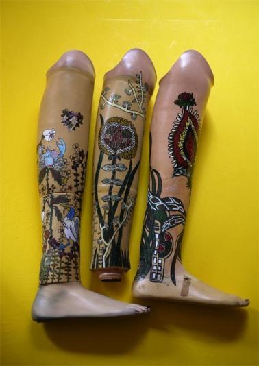 Mari Katayama, My legs, 2012