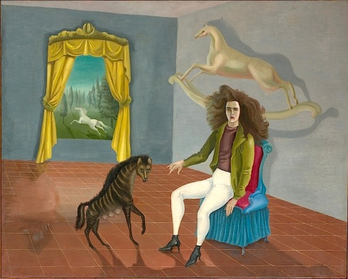 Self-portrait (The Inn of the Dawn Horse) - Leonora Carrington - MET this